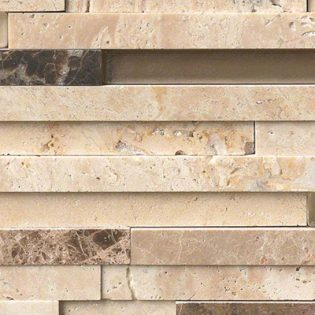Ashlar Rock Interlocking 3D Pattern