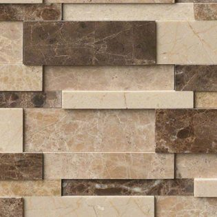 Astoria Blend Interlocking 3D Polished Pattern