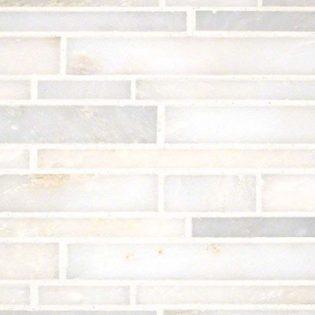 Grecian White Interlocking Pattern