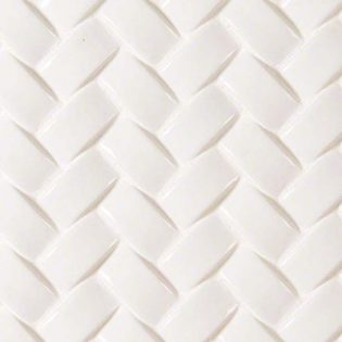 Whisper White Arched Herringbone